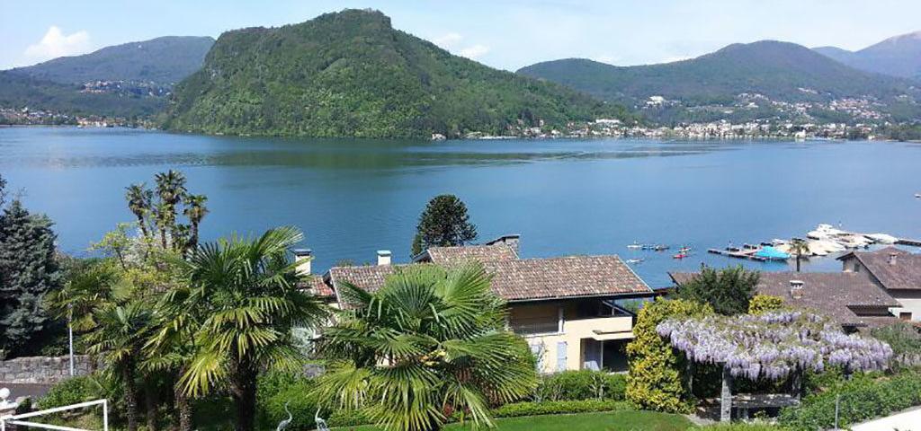 Exkl. WHG mit Pool & Seegrundstück in Lugano
