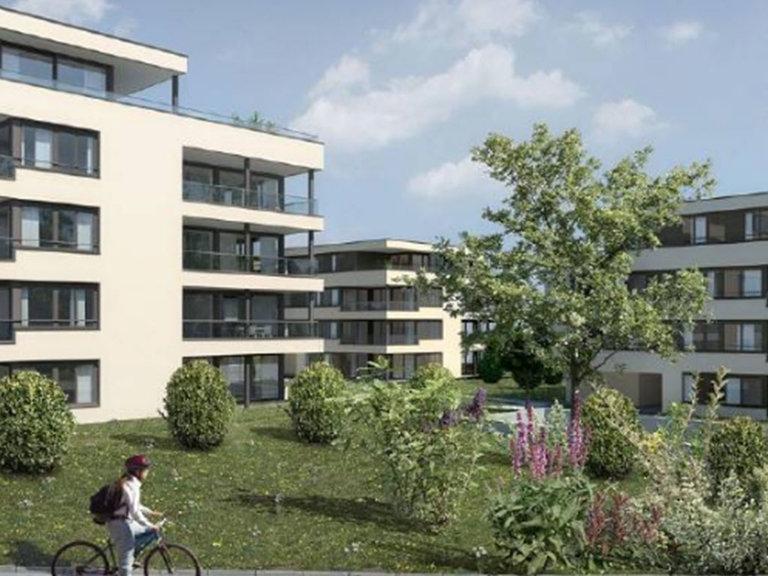 Erstvermietung, 2.5 Zimmer Wohnung Neubau 65 m2 inkl. Tiefgarage